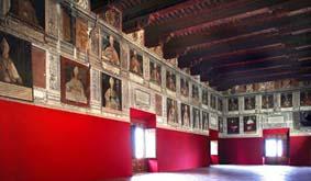 Salón de Obispos Palacio Episcopal Tarazona
