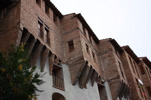 """""""Casas colgadas"""" de la Judería de Tarazona"""