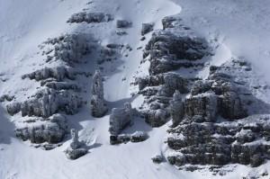 """""""Alpinista ascendiendo el Moncayo"""". Javier Camacho Gimeno."""