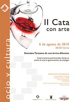 Cata con arte 2010 en Tarazona
