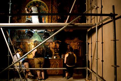 Restauración del retablo de La Piedad