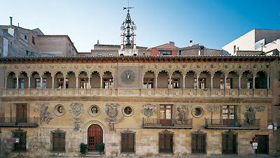 Fachada del Ayuntamiento de Tarazona