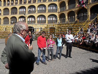 La visita temática en la Plaza de Toros Vieja
