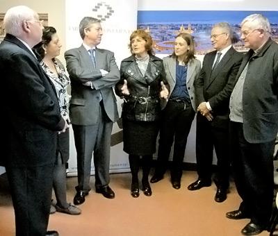 Firma convenio Fundación Tarazona Monumental y Gobierno de Aragón