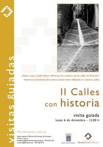 "Visita Guiada Temática ""Calles con historia"""