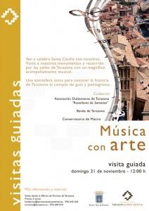 """Cartel """"Música con arte"""""""