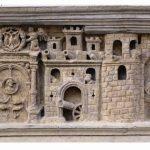 Friso Ayuntamiento de Tarazona dedicado a Carlos V