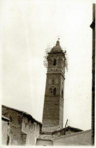 Antiguo chapitel de la torre de la Magdalena de Tarazona