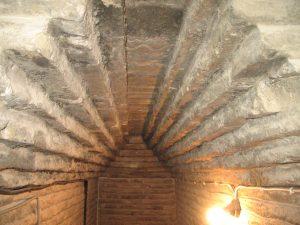 Interior Torre Iglesia de la Magdalena Tarazona