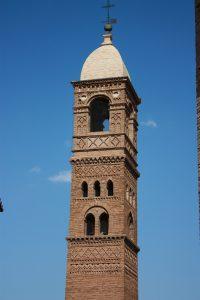 Nuevo chapitel de la torre de la Magdalena de Tarazona