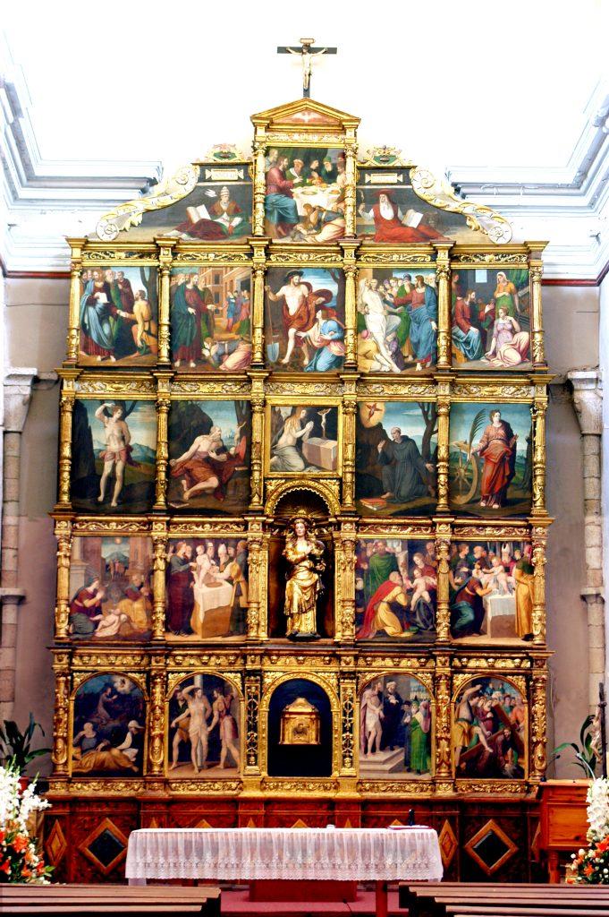 Retablo mayor Iglesia Sª Mª Magdalena