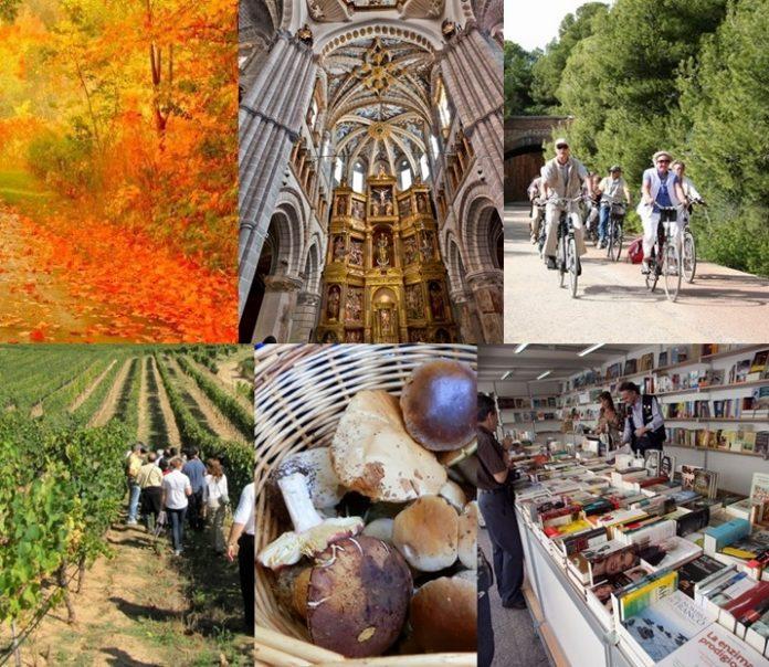 Planes de otoño en la comarca de Tarazona y el Moncayo. Fundación Tarazona Monumental.
