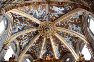 Pinturas boveda Catedral Tarazona. Fundacion Tarazona Monumental.