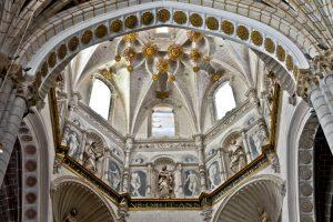 Pinturas cimborrio Catedral de Tarazona. Fundacion Tarazona Monumental