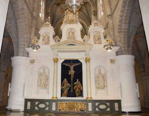 Trascoro Catedral Tarazona. Fundacion Tarazona Monumental