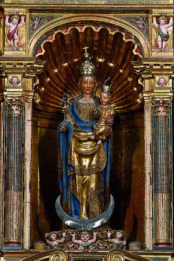 Virgen de la Huerta del siglo XV, de Pere Johan.