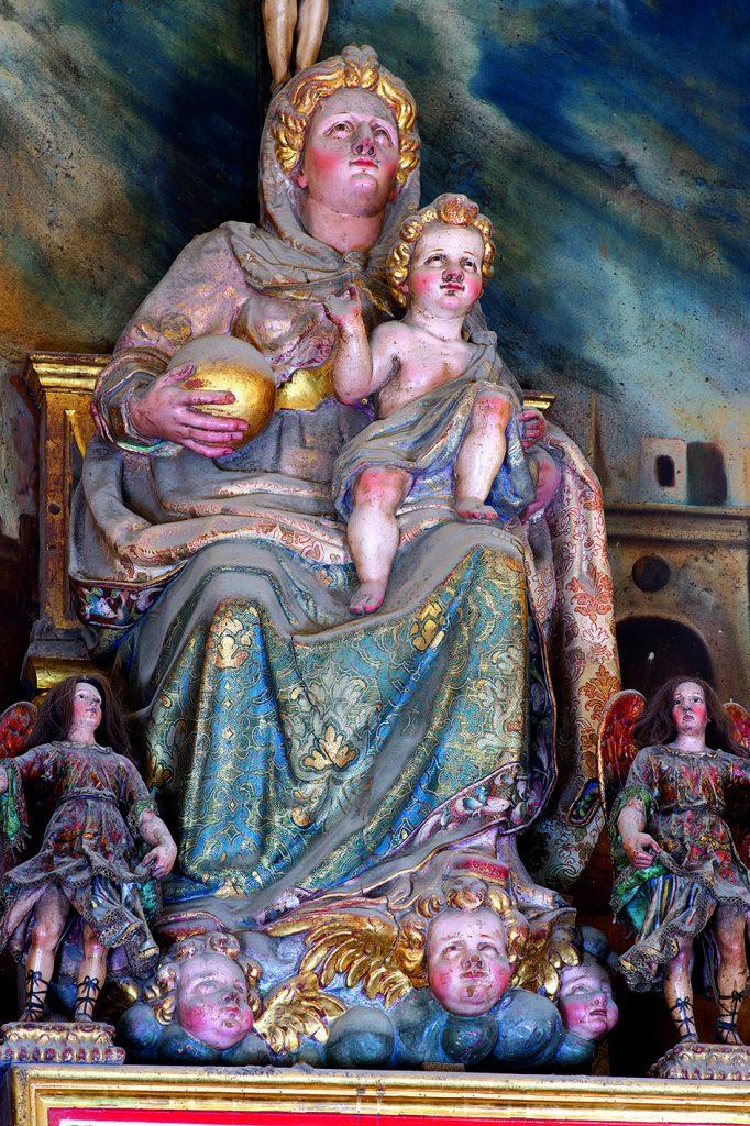 Virgen de la Huerta del siglo XVII.