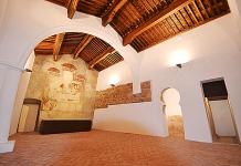 Imagen del interior de la Mezquita de Tórtoles, declarada bien catalogado del patrimonio aragonés.