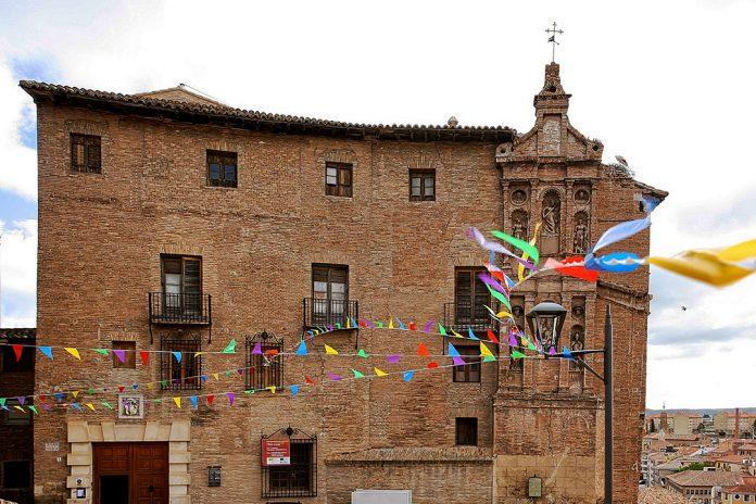 Imagen de la Fachada del Palacio Episcopal de Tarazona, el Día del Patrimonio 2016.