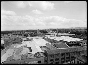 "Vista de la fábrica ""Textil Tarazona"". Archivo AHP"