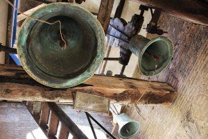 Imagen del campanario de la Torre de la Magdalena.