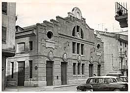 Teatro de Bellas Artes a mediados del s.XX.