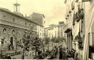 Plaza del mercado o España. En formas de sociabilidad colectiva.