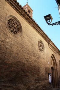 Portada principal de la Iglesia de Sta. Mª Magdalena.