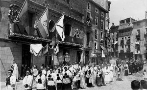 Procesión del traslado de las reliquias de San Atilano del 28 de agosto