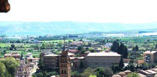 Vistas de Tarazona desde la Torre de la Magdalena.