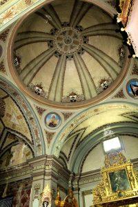 Cúpula de la Iglesia de San Joaquín.