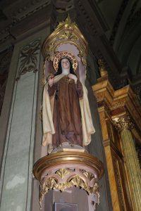 Escultura perteneciente a la Iglesia del Ex-convento de San Joaquín.