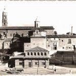 Imagen antigua de la Iglesia de San Francisco de Asís de Tarazona.