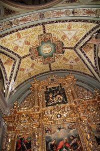 Retablo mayor de la Iglesia de San Joaquín.