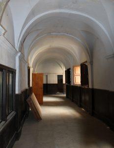 Imagen un pasillo de éste ex-convento del S. XVII.