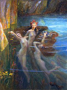 Imagen de ninfas acuáticas.